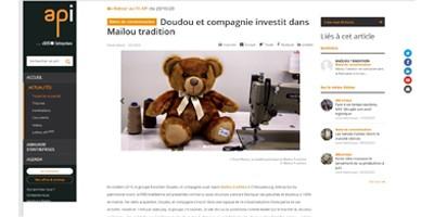l'ours Français, Maïlou tradition, l'ours Elysée