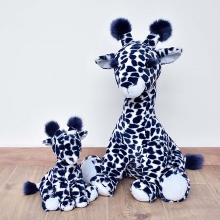 HO3043 - Peluche Girafe Bleue - 30 cm