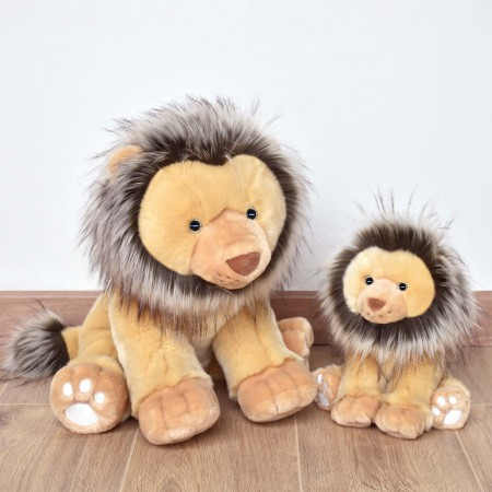 HO3051 - Peluche Lion Marron - 25 cm